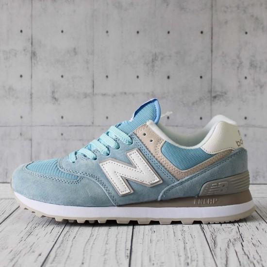 Кроссовки New Balance 574 голубые