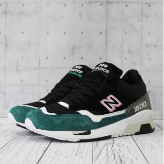 """Кроссовки """"New Balance"""" 1500 черные с зеленым"""