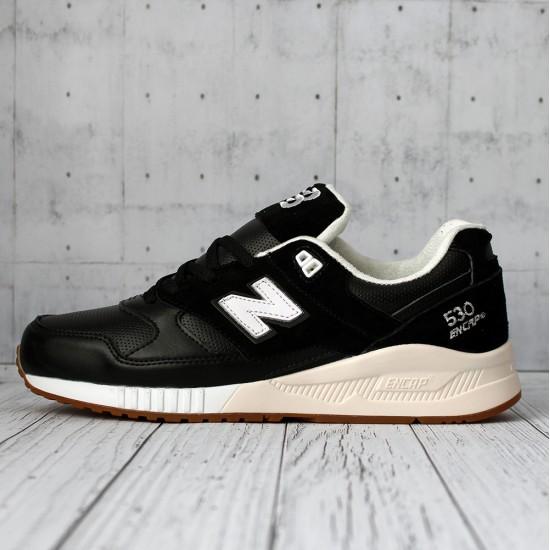 Кроссовки New Balance 530 кожаные черные